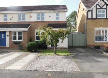 Thumbnail 3 bed semi-detached house for sale in Silkstone Close, Swadlincote