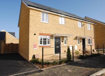 Thumbnail 3 bed semi-detached house for sale in The Homelands, Bishops Cleeve, Cheltenham