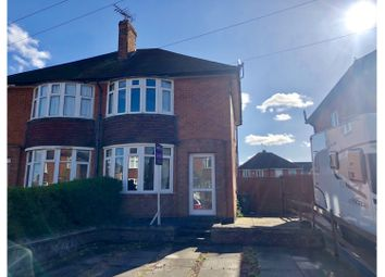 Thumbnail 2 bed semi-detached house for sale in King George Avenue, Loughborough
