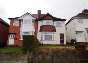 Thumbnail 3 bed property to rent in Thurlestone Road, Birmingham