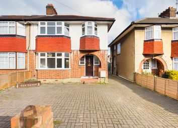 Thumbnail 3 bed semi-detached house to rent in Hillcroft Crescent, Ruislip