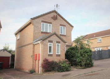 Thumbnail 3 bed detached house for sale in Whatfield Way, Stowmarket