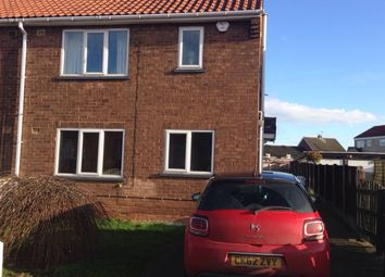 Thumbnail 2 bed semi-detached house to rent in Sycamore Road, Carlton In Lindrick, Worksop