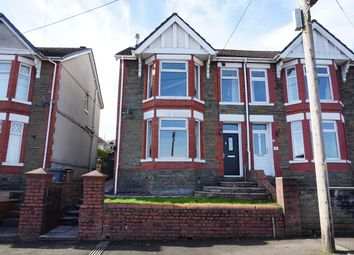 Thumbnail 3 bed semi-detached house for sale in Lilian Road, Blackwood