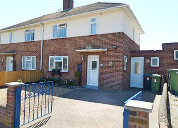 Thumbnail 2 bed semi-detached house for sale in Broad Close, Peterborough, Cambridgeshire.