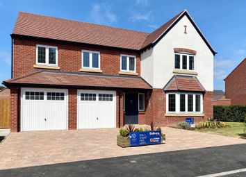 Thumbnail 5 bed detached house for sale in Fulford Hall Road, Tidbury Green, Solihull, West Midlands