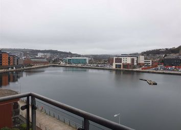 Thumbnail 2 bed flat for sale in South Quay, Kings Road, Swansea
