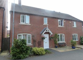 Thumbnail 4 bed semi-detached house for sale in Applebees Walk, Hinckley