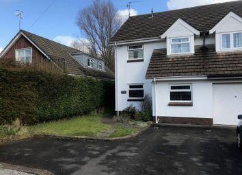 Thumbnail 3 bed semi-detached house for sale in Ponthir, Newport