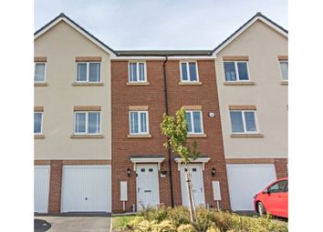 Thumbnail 4 bed town house for sale in Curiosity Close, Rugby
