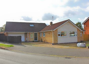 Thumbnail 4 bed detached bungalow for sale in Clovelly Road, Glenfield, Leicester