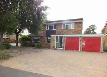Thumbnail 4 bedroom detached house to rent in Fielding Court, Eaton Ford, St. Neots