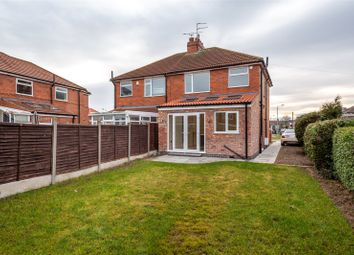 Thumbnail 3 bed semi-detached house for sale in Burnholme Avenue, York