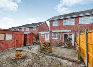 Thumbnail 3 bedroom semi-detached house for sale in Maisemore Close, Church Hill North, Redditch