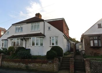 Thumbnail 3 bed semi-detached house to rent in Stafford Road, Seaford