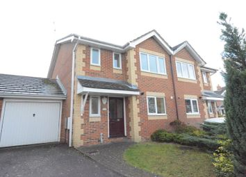 Thumbnail 3 bed semi-detached house to rent in Burnt House Gardens, Warfield, Bracknell