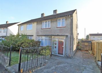 Thumbnail 3 bed semi-detached house for sale in Ashridge Gardens, Plymouth