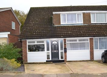 Thumbnail 4 bed semi-detached house for sale in Rennishaw Way, Links View, Northampton