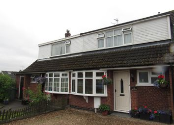 Thumbnail 3 bedroom semi-detached house to rent in Nursery Close, Thurlaston, Leicester