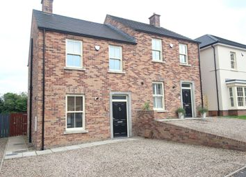 Thumbnail 2 bed semi-detached house for sale in Glen Corr Drive, Newtownabbey