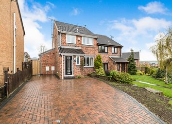 Thumbnail 3 bed semi-detached house for sale in Brackens Lane, Barlborough, Chesterfield