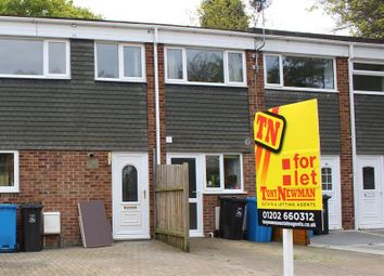 Thumbnail 2 bed terraced house to rent in Northmere Road, Parkstone, Poole