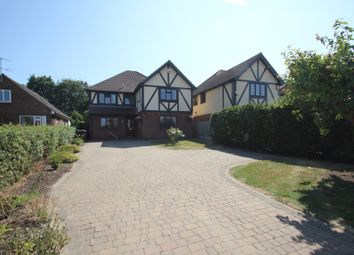 Thumbnail 5 bed detached house for sale in The Drive, Hullbridge, Hockley