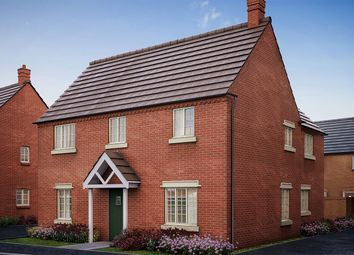 "Thumbnail 4 bed detached house for sale in ""The Casterton"" at Former Sawmills, Northampton Road, Brackley"