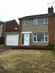 Thumbnail 3 bed semi-detached house to rent in Grosvenor Road, Bassaleg, Newport, Gwent