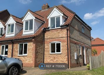 Thumbnail 3 bed semi-detached house to rent in New Road, Reepham, Norwich