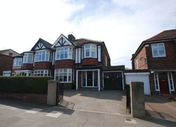 Thumbnail 3 bedroom semi-detached house for sale in Great North Road, Gosforth, Newcastle Upon Tyne