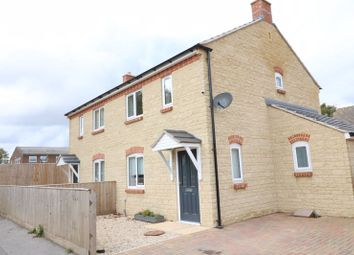 Thumbnail 2 bed semi-detached house for sale in Chelford Court, Black Bourton Road, Carterton