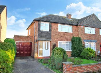 3 bed semi-detached house for sale in Prestwick Drive, Bishop's Stortford, Hertfordshire CM23