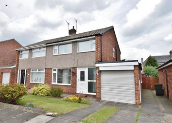 Thumbnail 3 bed semi-detached house for sale in Westbeck Gardens, Linthorpe, Middlesbrough