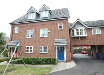 Thumbnail 3 bed town house for sale in Lawnhurst Avenue, Wythenshawe, Manchester