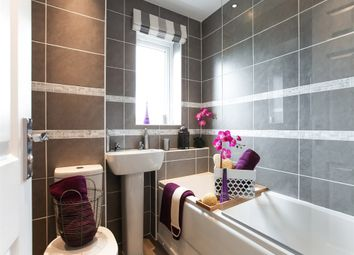 "Thumbnail 3 bed semi-detached house for sale in ""The Hanbury"" at Newfield Terrace, Newfield, Chester Le Street"