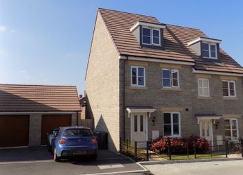 Thumbnail 3 bed semi-detached house for sale in Cob Hill, Purton, Swindon