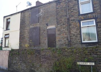 Thumbnail 1 bed terraced house for sale in Quarry Road, Mountain Ash