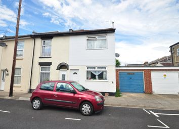 Thumbnail 2 bed end terrace house to rent in Brookfield Road, Portsmouth