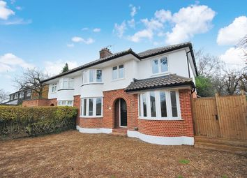 Thumbnail 4 bed detached house to rent in Hillside Avenue, Bishop`S Stortford, Herts
