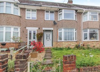 Thumbnail 3 bed terraced house for sale in Lincroft Crescent, Coventry