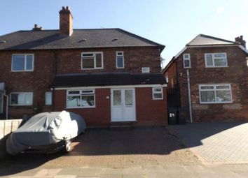 Thumbnail 3 bed semi-detached house for sale in St. Maragarets Road, Ward End, Birmingham, West Midlands