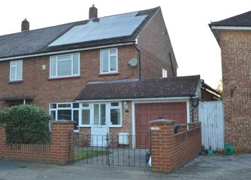 Thumbnail 3 bed property to rent in Glen Road, Chessington
