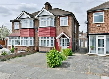 Thumbnail 3 bed semi-detached house for sale in Countisbury Avenue, Enfield