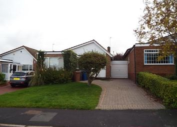 Thumbnail 2 bed bungalow for sale in Rochester Avenue, Burntwood, Staffordshire