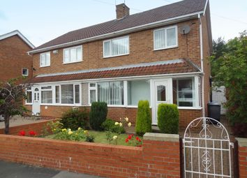 Thumbnail 3 bedroom semi-detached house to rent in Leesfield Gardens, Meadowfield