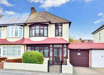 Thumbnail 3 bed end terrace house for sale in Castlemaine Avenue, Gillingham, Kent