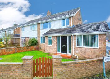Thumbnail 3 bed semi-detached house for sale in Viking Way, Corby