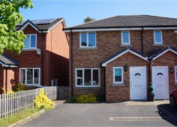 Thumbnail 3 bed semi-detached house for sale in Harvey Gardens, Shrewsbury
