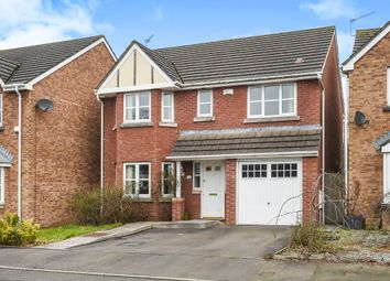 Thumbnail 4 bedroom detached house for sale in Soarel Close, St. Mellons, Cardiff